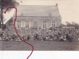 ( 59 ) -  SAINT SAULVE Pfingstaufmarch Sanitätskompagnie  Carte Photo Allemande 1° Guerre - Frankreich