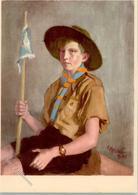 52174387 - Uniform Fahne Uhr Sign. Kreidolf, E. - Pfadfinder-Bewegung