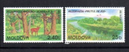 Serie Nº 263/4 Moldavia - Sellos