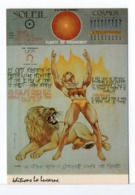 CPM - SIGNE DU LION - Astrology
