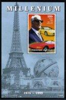 TCHAD - ENZO FERRARI - 1 BLOC FEUILLET DE 1 TIMBRE NEUF ** - Tsjaad (1960-...)