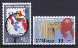 Griekenland - Internationale Briefmarkenausstellung Der Balkanländer BALKANFILA '79 - MNH - M 1381-1382 - Ongebruikt