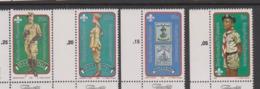 South Africa-Bophuthatswana SG 84-87 1982 75th Anniversary Boy Scouts,Mint Never Hinged - Bophuthatswana