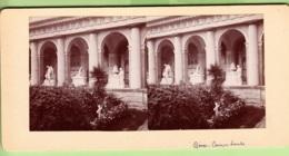 ITALIE - GENES - Campo Santo 1904 - Photo Stéréoscopique - Lire Descriptif - Stereoscoop