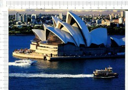 L437  -  SYDNEY  -   Opera  House   With  Commuter  Ferry  And  Hydrofoil In The Foreground - Sydney