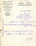 13.FONTVIEILLE.FABRIQUE SPECIALE DE PAILLASSONS ABRIS EN ROSEAUX DE MARAIS.ROSEAUX DE CAMARGUE.LOUIS JOVER. - Frankrijk