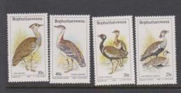 South Africa-Bophuthatswana SG 112-115 1983 Birds Of The Weld,Mint Never Hinged - Bophuthatswana