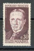 FRANCE - MANDEL - N° Yvert 1423 Obli. Ronde De LYON GARE De 1965 - France