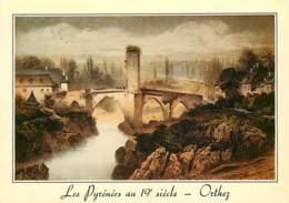 64 - Orthez - D'après Une Gravure D'époque - Gravure Lithographie Ancienne - Collection Les Pyrénées Au XIXe Siècle - Ca - Orthez
