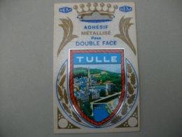 Blason Adhésif   TULLE (19) Corrèze - Tulle