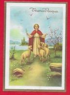 CARTOLINA VG ITALIA - BUONA PASQUA - Cristo Pastore - P. Ventura - 10 X 15 - 1968 CATANIA - Pasqua