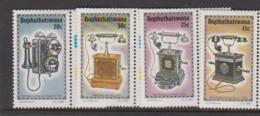 South Africa-Bophuthatswana SG 146-149 1984 History Of The Telephone,Mint Never Hinged - Bophuthatswana