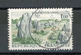 FRANCE -  CARNAC - N° Yvert 1440 Obli. Ronde De BOURG EN BRESSE 1966 - France