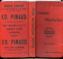 RARE GUIDE MICHELIN 1909 10è ANNEE - Michelin (guias)
