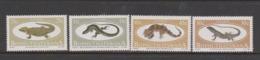 South Africa-Bophuthatswana SG 150-153 1984 Lizards ,Mint Never Hinged - Bophuthatswana