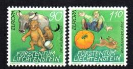 Serie Nº 1086/7 Liechtentein - Sellos