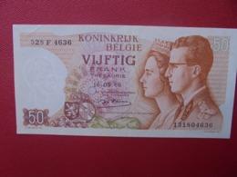 BELGIQUE 50 FRANCS 1966 PEU CIRCULER (B.5) - 50 Francs