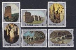 Griekenland - Burgen-Höhlen-Brücken - MNH - M 1403-1408 - Ongebruikt