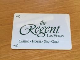 Hotelkarte Room Key Keycard Clef De Hotel Tarjeta Hotel   LAS VEGAS THE REGENT - Télécartes