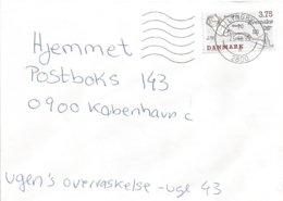 Denmark 1995 Lyngby Cartography Map Cover - Danimarca
