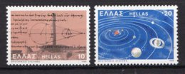 Griekenland - 2300. Geburtstag Des Astronomen Aristarchos Von Samos (310-230 V. Chr.) - MNH - M 1409-1410 - Ongebruikt