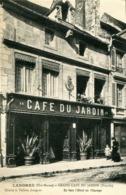 LANGRES  = Grand Café Du Jardin     897 - Langres