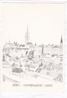 CPM.  15 X 10,5  -  BERN  -  JUNKERNGASSE  -  MATTE - BE Berne