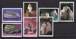 Griekenland - Minerale - MNH - M 1426-1432 - Ongebruikt