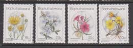 South Africa-Bophuthatswana SG 187-190 1987 Wild Flowers,Mint Never Hinged - Bophuthatswana