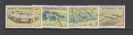 South Africa-Bophuthatswana SG 191-194 1987 Tertiary Education,Mint Never Hinged - Bophuthatswana