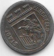Notgeld Elberfeld 50 Pfennig 1918 Fe  3605.7 / F 111.6A/e - [ 2] 1871-1918 : Empire Allemand