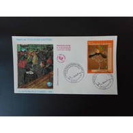 FDC - Tableau Toulouse Lautrec - Oblit 8/9/2001 Albi - FDC