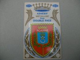 Blason Adhésif  ROANNE (42) Loire - Roanne