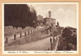 CPA Reppublica San Marino, Conventodei Cappuccini, Ungel. - San Marino