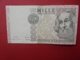ITALIE 1000 LIRE 1982 CIRCULER (B.5) - 1000 Lire