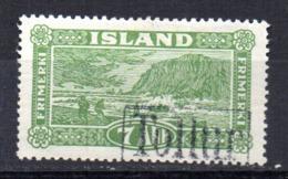 Sello Nº 115 Islandia - 1918-1944 Administración Autónoma