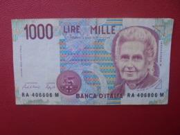 ITALIE 1000 LIRE 1990 CIRCULER (B.5) - [ 2] 1946-… : République
