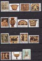 Griekenland - Freimarken: Die Epischen Dichtungen Homers - MNH - M 1531-1545 - Ongebruikt