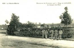 LANGRES  =  Manoeuvres De Forteresse 1906 :  Le Transport Des Obus   901 - Langres
