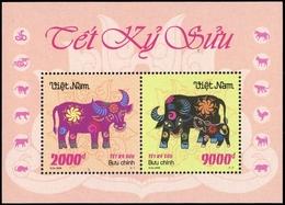 2008, Vietnam Nord Und Republik, Block 152, ** - Vietnam