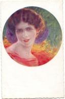CP - Femme Art Deco - Vrouw  - Illustr Guerinoni - Guerinoni