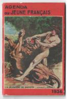 Agenda Du Jeune Français 1936  Super étatdont Illustration Marcel Jeanjean  Vois Scan 5 - Livres, BD, Revues