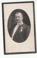 Décès Louis Joseph Charles Marie CARON époux Anne Marie Henriette Van Hulsel Hoboken 1851 Turnhout 1922 Noble Adel - Images Religieuses
