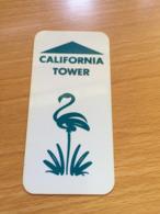 Hotelkarte Room Key Keycard Clef De Hotel Tarjeta Hotel FLAQMINGO LAUGHLIN CALIFORNIA TOWER - Télécartes
