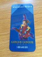 Hotelkarte Room Key Keycard Clef De Hotel Tarjeta Hotel CIRCUS CIRCUS RENO - Télécartes