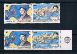 Griechenland 1992 Europa/Cept Mi.Nr. 1802/03 A + C ** - Griechenland