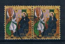 Polen 2016 Weihnachten Mi.Nr. ? Waagr. Paar Gestempelt - Used Stamps