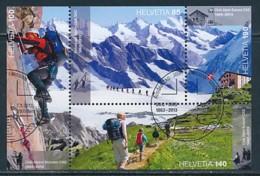SCHWEIZ Mi. Nr. Block 52 150 Jahre Schweizer Alpenclub - Used - Schweiz