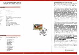 Belg. Postfolder 12 - 1987 OBP 2264 - Aarschot 3-10-1987  (2 Scans) Jeugdfilatelie - Suske En Wiske - Documents De La Poste