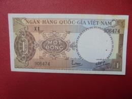 VIETNAM(SUD) 1 DÔNG 1964  CIRCULER(B.5) - Viêt-Nam